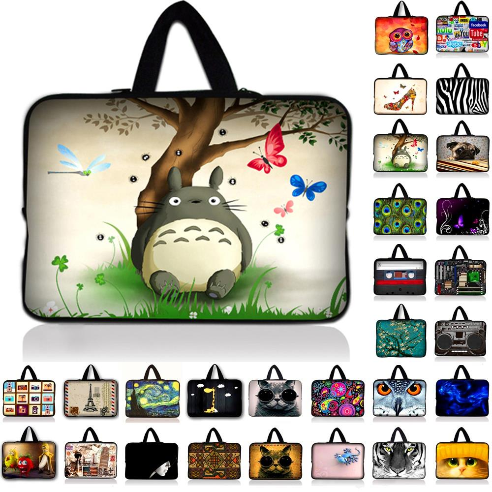 7 10 12 17 13 15 15.6 17.3 inch Cute Cat Laptop Sleeve Waterproof Shockproof Sleeve Pouch Bag Tablet Case Cover For Dell HP ASUS