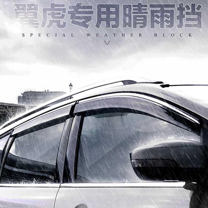 Voor Ford Escape Kuga 2013 2014 Venster Vizieren Luifels Wind Regen Deflector Vizier Guard Vent 4 stks/set
