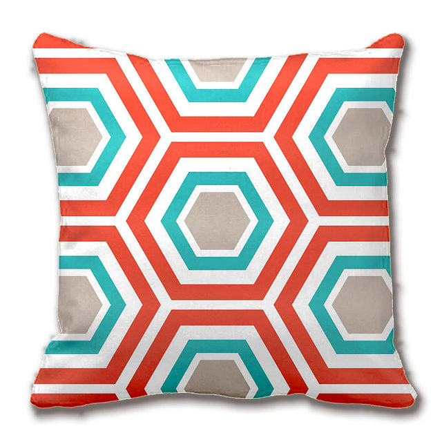 Online Shop MidCentury Aqua And Chartreuse Retro Pattern Throw Simple Chartreuse Pillows Decorative