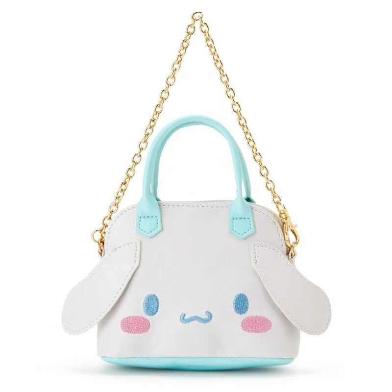 ... Cute Cartoon Hello Kitty My Melody Cinnamoroll Pudding Dog Plush  Backpack Mini Handbag Shoulder Bags For ... 4d24041317fd2