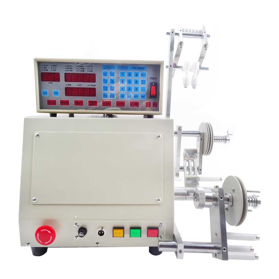 High quality  New Computer C Automatic Coil  Winding Machine for 0.03-1.2mm wire 220V/110V  Winder  цены