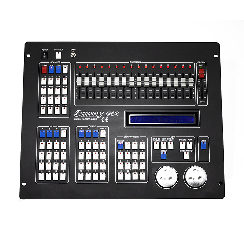 все цены на Sunny512 Channels DMX512 DMX Controller Console DJ Disco Equipment DMX Lighting Consoles Professional Stage Lights Control Equip