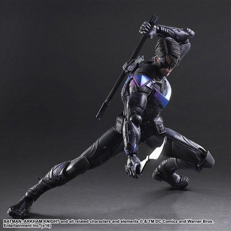 PLAY ARTS 27cm The Dark Knight batman Nightwing Action Figure Model Toys batman legends of the dark knight volume 2