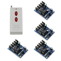 DC 12V 48V RF Wireless Remote Control Switch 40A Relay Remote Switch Light LED Bulbs Remote