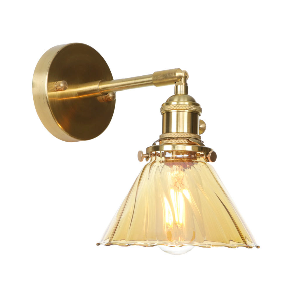 IWHD Nordic Copper Wall Lamp Glass Lampshade Wandlamp LED Edison Wall Light Industiral Vanity Light Applique Murale LuminaireIWHD Nordic Copper Wall Lamp Glass Lampshade Wandlamp LED Edison Wall Light Industiral Vanity Light Applique Murale Luminaire
