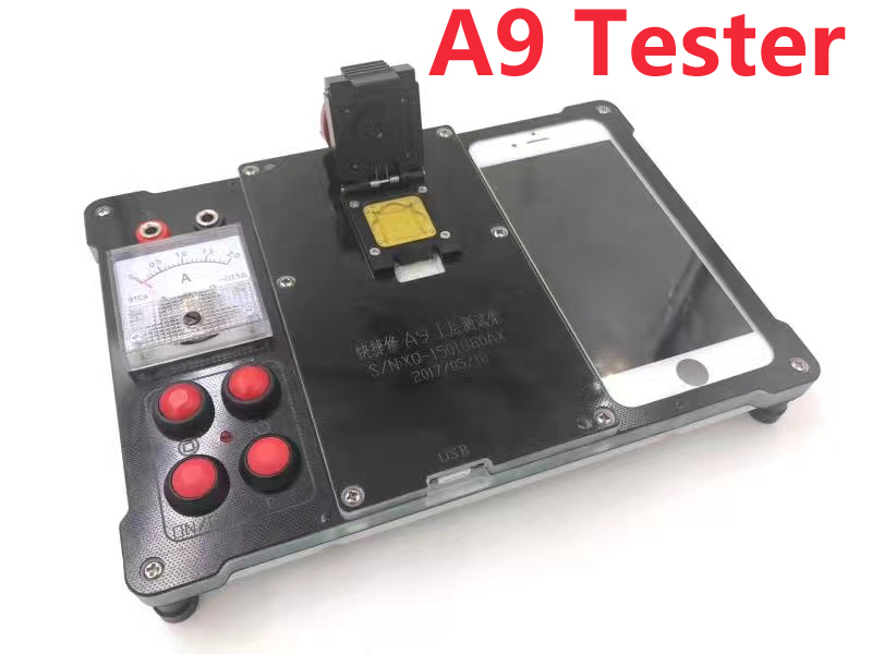 New for iphone 6 6s plus 6p 7 A8 A9 Cpu testing ic chip Test stand Tester Good or bad Tools Maintenance test fixture apple ipad air 2 wi fi cellular 32gb silver mnvq2ru a