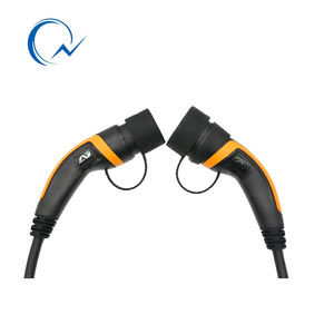 Image 4 - 32A EV Cable J1772 Type 1 to Type 2 IEC62196 EV Charging Plug With 5 Meter cable TUV/UL male to female EVSE Charging Plug cable