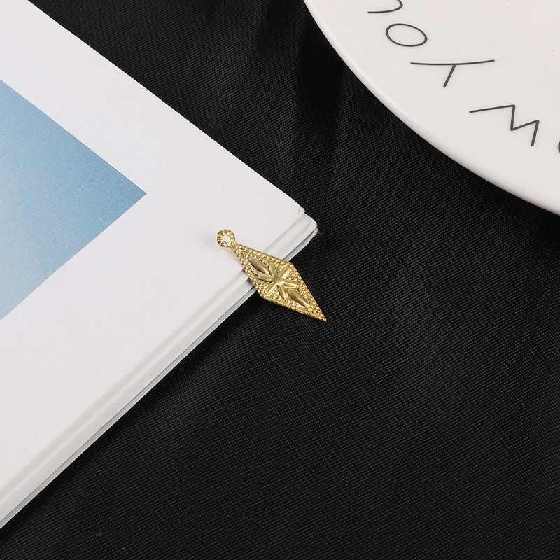 Оптовая продажа, новинка, 30 шт./лот, золото/родий, алмазные железные соединители для изготовления ювелирных изделий, аксессуары для рукоделия, подвески