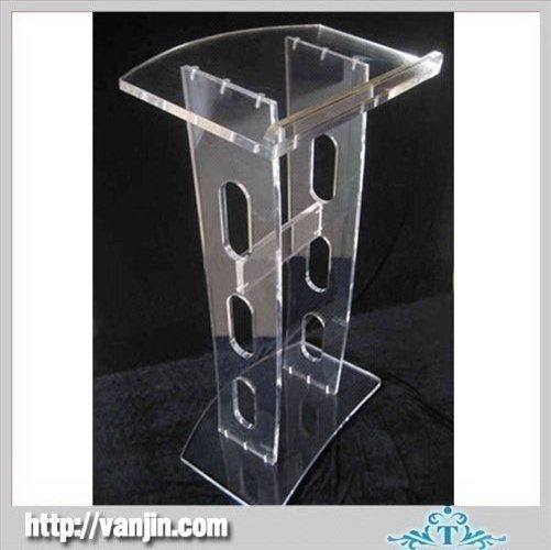 Free Shipping Acrylic Pulpit Church / Acrylic Pulpits Church / Acrylic Platform