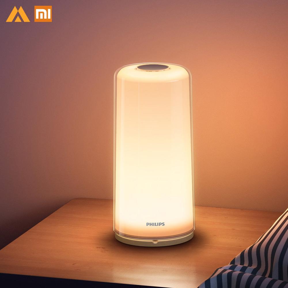 New Xiaomi Smart Bedside Lamp 100 240V Stepless Dimming Xiomi Light Xiaomi Bedside Lamp Xioami