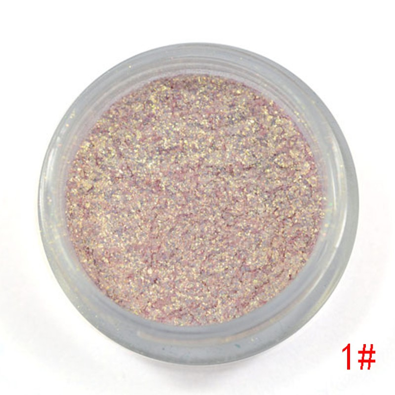 Creative Love Alpha 13 Colors Eye Shadow Flash Powder Super Bright Pearl Shining Bright Glitter Powder Pink Diamond Brand Makeup Beauty & Health