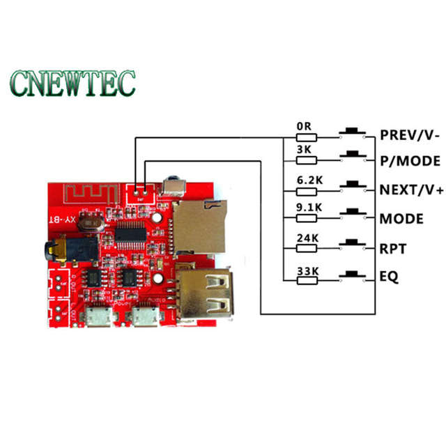 US $6 88 |Bluetooth Decoding Board Support to decode WAV/APE/FLAC/MP3 files  losslessly USB Audio U Disk TF Card IR remote control-in Integrated