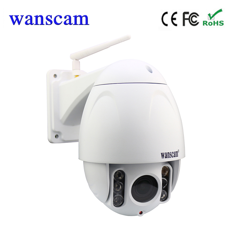Wanscam HW0045 5*optical Zoom Wifi Camera 1080P IP Camera Wireless 2.0MP PTZ Dome Security Camera Build in 16G TF card kaweida 16g tf