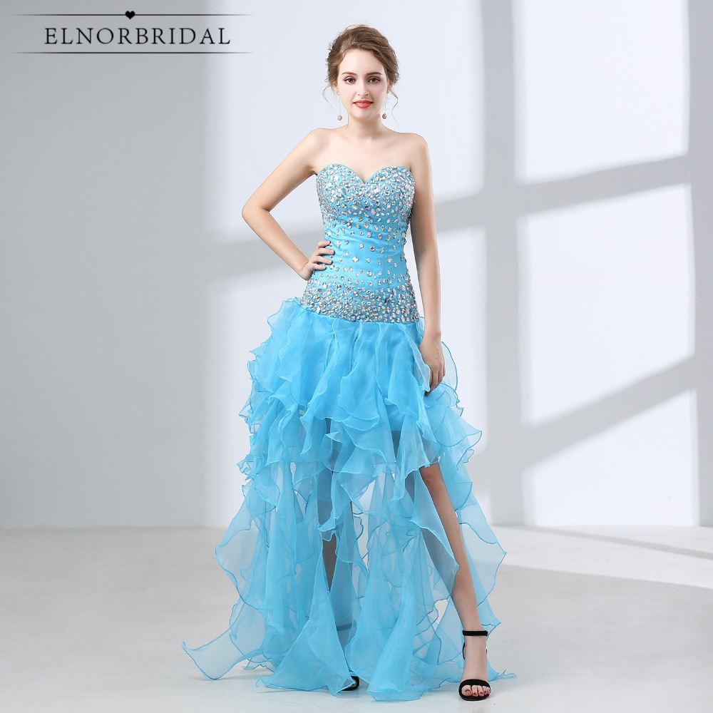 Sky Blue Mermaid Prom Dresses Long 2018 Galajurken Sweetheart ...