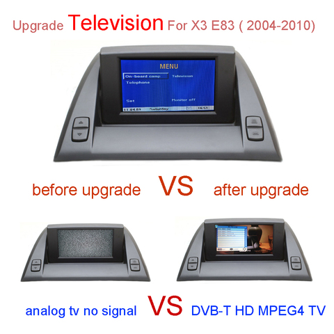 Dvb-t de tv Digital para Bmw x3 E83