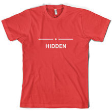 Hidden - Mens T-Shirt Gamer / Gaming Console 10 Colours Free UK P&P Print T Shirt Short Sleeve  free shipping