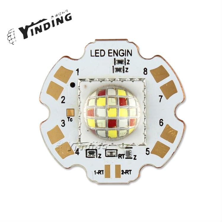 1 шт. светодиодный Энгин LZP RGBW купол объектив 80 Вт высокое Мощность светодиодный излучатель свет лампы реветь светодиодный с 28 мм PCB радиатор