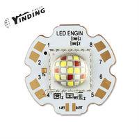 1pcs LEDEngin LZP RGBW Dome Lens 80W Hight Power LED Emitter Lamp Light Blub LED With 28MM PCB Heatsink