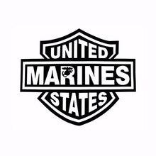 Знак Логотипа Повязки Объединенных Десантники Государства Автомобиля Наклейки для Мотоциклов ВНЕДОРОЖНИК Автомобилей Стайлинг Водонепроницаемый Светоотражающие Винил Наклейка 10 Цветов