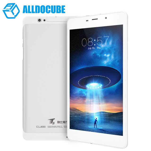 AlldoCube/Cubo T8 ultimate Dual 4G Teléfono Tablet PC MTK8783 Octa Core 8 Pulgadas Full HD 1920*1200 Android 5.1 2 GB Ram 16 GB Rom GPS
