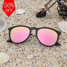 EURYALE Polarizadas óculos de sol das mulheres Estilo Retro Metal Frame Óculos de Sol Da Senhora Famosa Marca Designer Oculos Feminino 4171