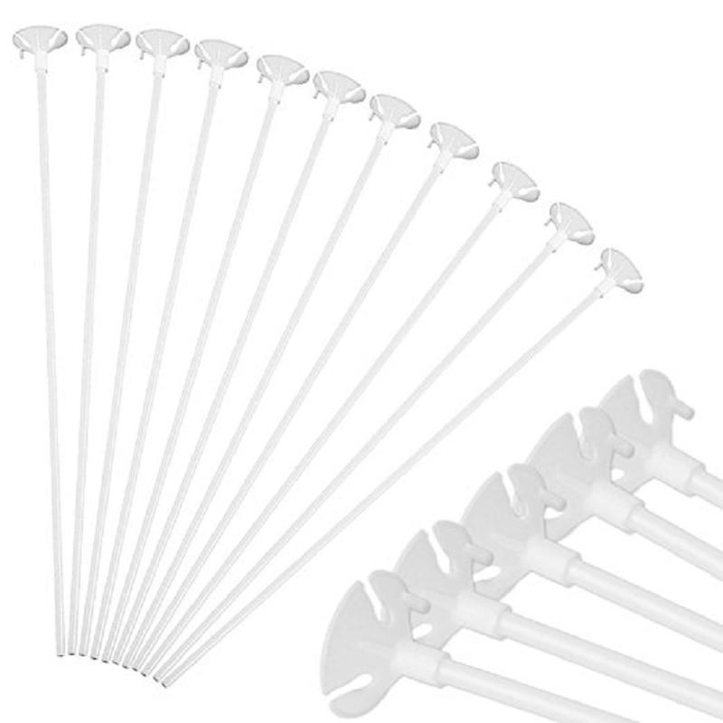 10pcs 30cm Balloon stick rod accessories high quality