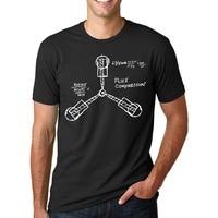 Gildanバック·トゥ·ザ· tシャツ男性フラックスコンデンサカルトフィルムカジュアルコットンtシャツ米国サイズs-3xl