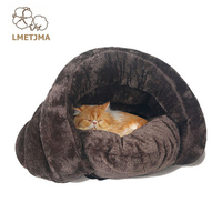Fashion Soft Warm Dog Bed Pet House Cotton Cat Dog Beds For Small Dogs Washable