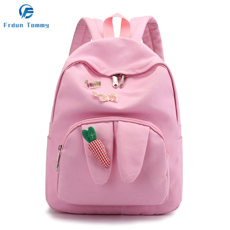 The Gift For Kids Mini Mochila Backpack Student Canvas Bag Outdoor Leisure Youth Backpack Custom High Quality Backpack