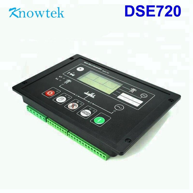 DSE720 contrôleur automatique remplacer pour moteur Original alternateur protection panneau de commande pièces de groupe électrogène carte électronique