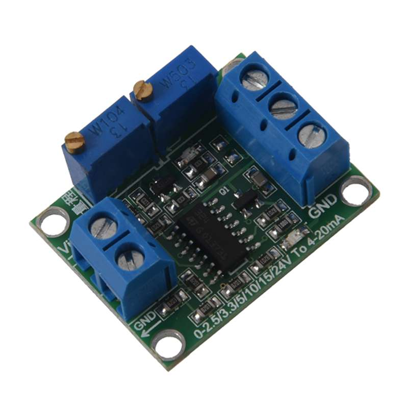 Image 3 - Voltage to Current Signal Transmitter 0 3.3/5/10/15V to 4 20mA Module-in Replacement Parts & Accessories from Consumer Electronics