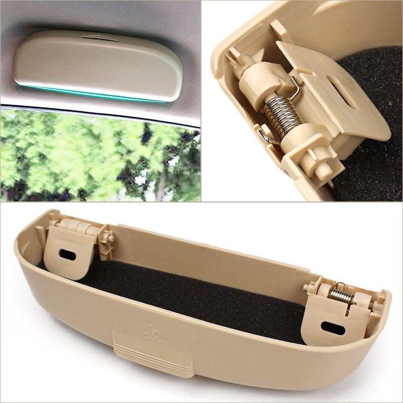 Universal Car Glasses Case Holder box For Mitsubishi Pajero V73 Soveran Galant Lioncel ASX RVR Car styling