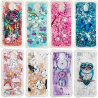 Luxury Bling Soft TPU Cover For Samsung Galaxy S7 Edge S8 S9 Plus A3 A5 A7 J3 J5 J7 2016 2017 A8 Plus 2018 Liquid Quicksand Case