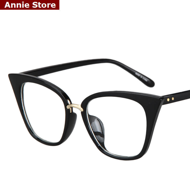 peekaboo new 2017 fashion cat eye glasses frames optical brand design vintage cat eye eyeglasses frame