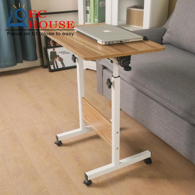 notebook comter bed with Simple easy folding bedside mobile lifting learning and writing desk FREE SHIPPING