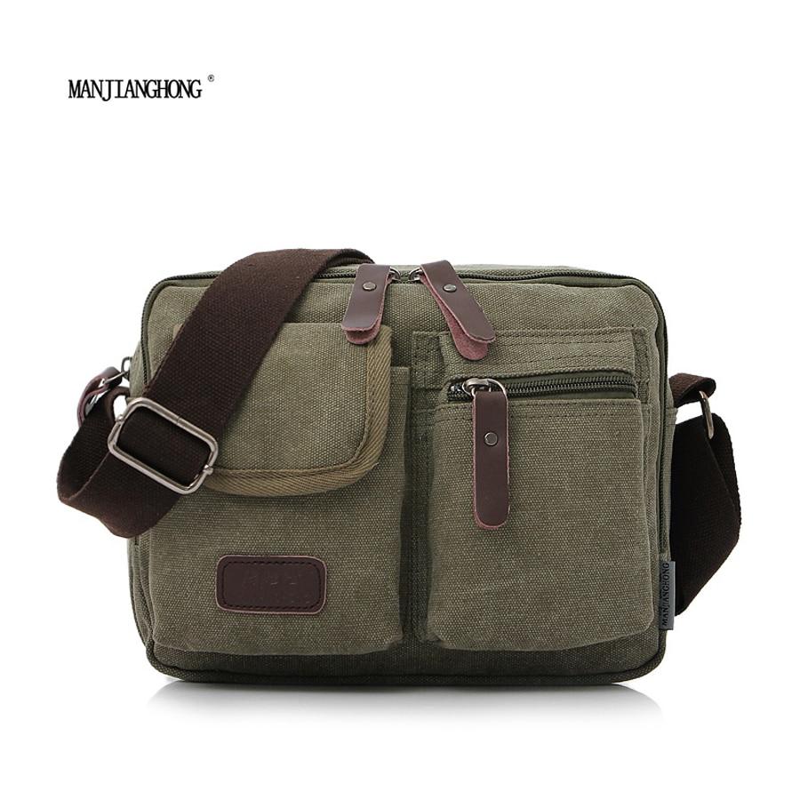 2017 men's travel bags cool Canvas bag fashion men messenger bags high quality brand bolsa feminina shoulder bags