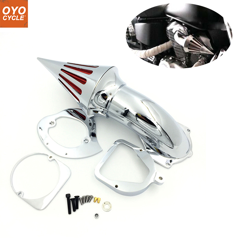 For 98 13 Honda Shadow Spirit 750 ACE 750 Spike Cone Motorcycle Air Cleaner Intake Filters Kit Accessories 1998 1999 2000 2013 in Air Filters Systems from Automobiles Motorcycles