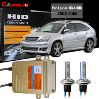 Cawanerl 55W Car Light Canbus HID Xenon Kit Ballast Lamp AC Car Headlight Low Beam 3000K 8000K For Lexus RX400h 2006 2007 2008
