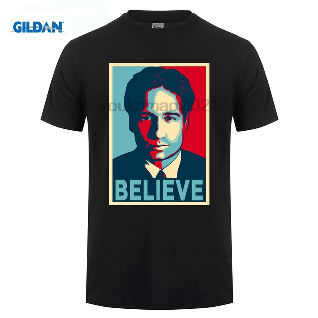 US $7 99 |GILDAN FOX MULDER BELIEVE T Shirt-in T-Shirts from Men's Clothing  on Aliexpress com | Alibaba Group