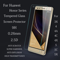 0.26 мм 9 H Жесткий 2.5D Премиум Анти Shatter Закаленное Стекло Для Huawei Honor 3X4 4A 4C 4X Honor 5 5C 5X Протектор Экрана Фильм