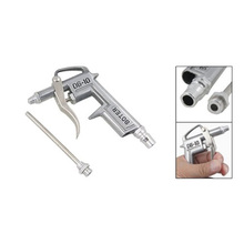 Dust Removing Air Blow Gun Cleaning Tool Silver Tone