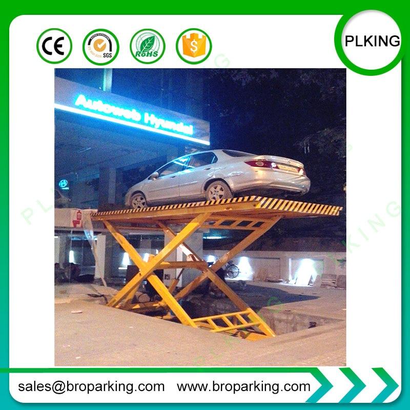 Qingdao Sinofirst Stationary Hydraulic Scissor Car Lift