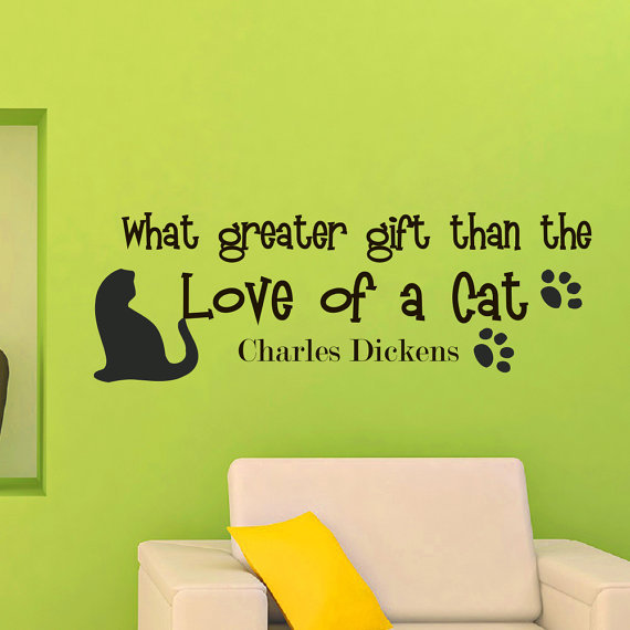 Popular Cat Wall DecalBuy Cheap Cat Wall Decal Lots From China - Custom vinyl wall decals cats