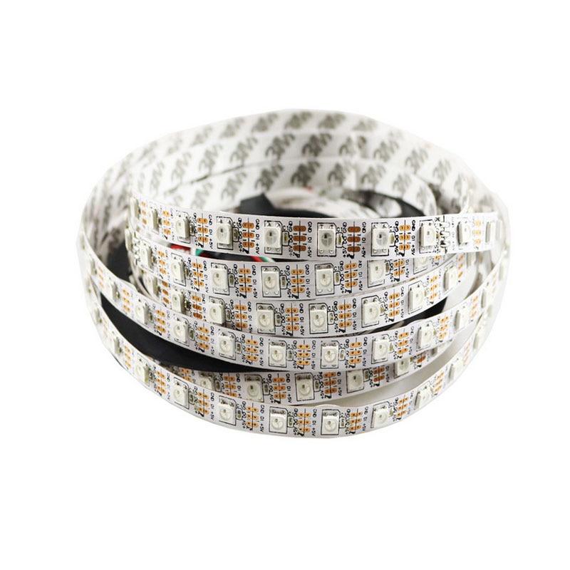5mX Vysoká kvalita WS2812B digitální flexibilní 5050RGB LED pás - LED Osvětlení