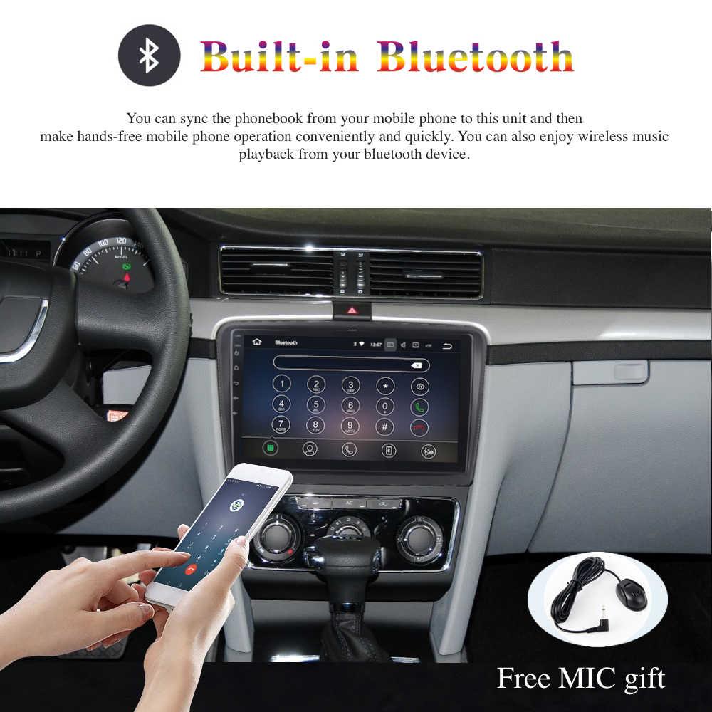 Android 10 Autoradio 2 Din GPS Navi per Skoda Superb 2008 - 2014 Built-in DSP IPS Schermo 4Gb + 64Gb 6-Core RDS Mappa WIFI Bluetooth