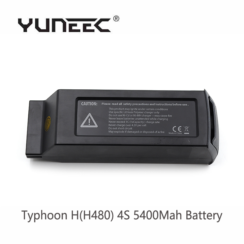 Free Shipping In Stock original Yuneec Typhoon H H480 4S 5400Mah Battery RTF RC Drone spare parts Battery for Typhoon H