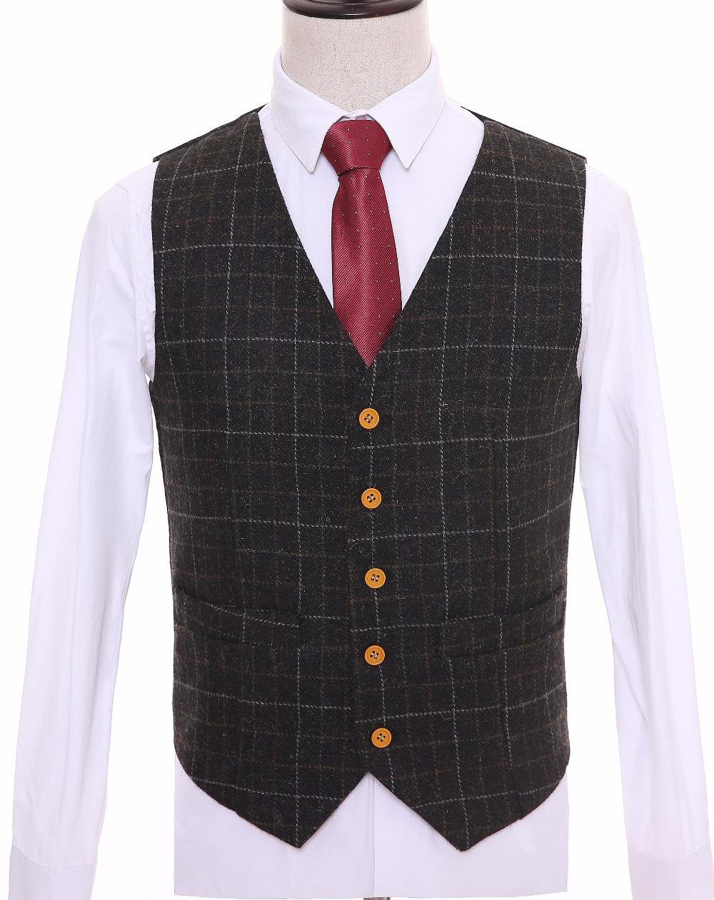 Compare Prices on Tweed Vest Men- Online Shopping/Buy Low Price ...