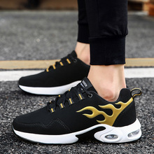 Fashionable energetic Mens sneakers breathable casual shoes 2019 lightweight slip resistant Mans footwear wild running