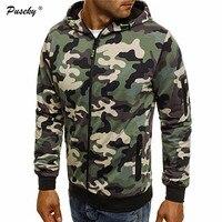 Fashion Camouflage Mens Zipper Hoody Men Military Hooded Sweatshirts Mens Brand Clothing Hoodies And Sweatshirts Plus