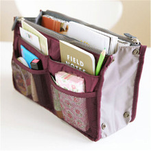 New Women Fashion Portable Bag Multi-function Nylon Cosmetic Storage Organizer M